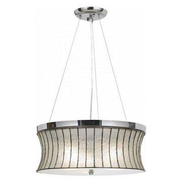 CAL Lighting FX-3546/1P 60Wx3 Glass Pendant