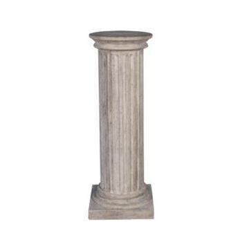 Design Toscano Classical Large Greek Fluted Plinth