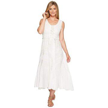 Scully Honey Creek Amelie Dress (Ivory) Women's Dress