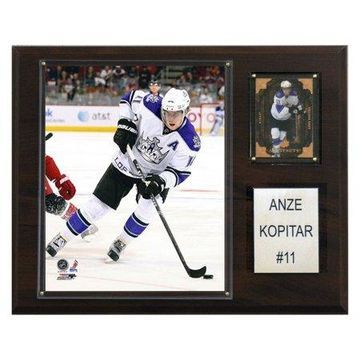 C&I Collectables NHL 12x15 Anze Kopitar Los Angeles Kings Player Plaque