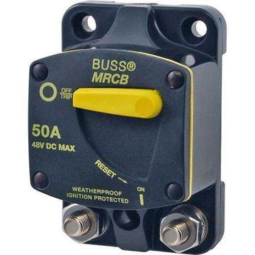 Blue Sea Systems 187 Series DC Circuit Breaker, Surface Mount