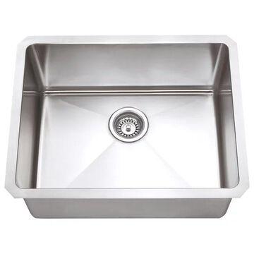 Hardware Resources Stainless Steel (16 Gauge) Fabricated Kitchen Sink