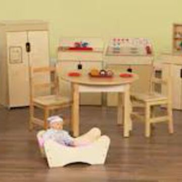 Wood Designs 12 Piece Plywood Dramatic Play Package | Quill