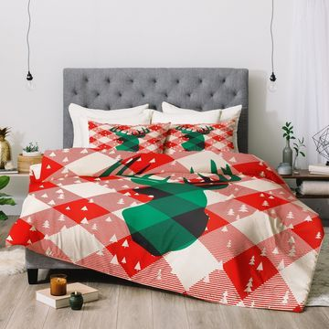 Deny Designs Deer 3-Piece Comforter Set