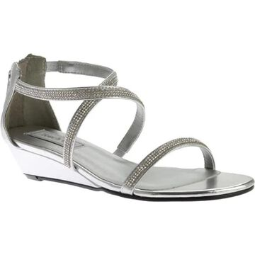 Touch Ups Women's Moriah Strappy Sandal Silver