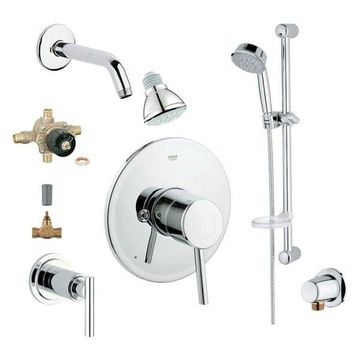 Grohe PC, Chrome, 10