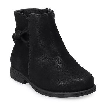 Rachel Shoes Lil Fae Toddler Girls' Ankle Boots, Toddler Girl's, Size: 7 T, Black