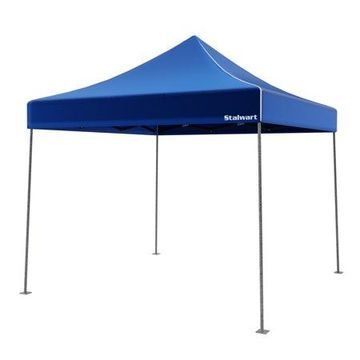 Stalwart 10' x 10' Outdoor Instant Canopy (Blue)