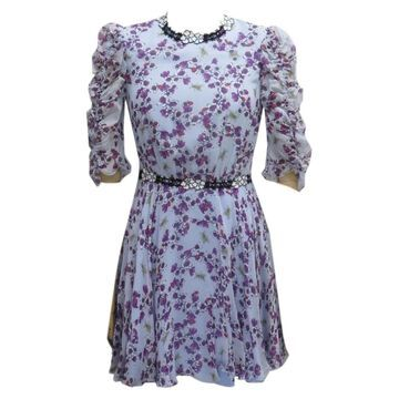 Giamba Blue Silk Dresses