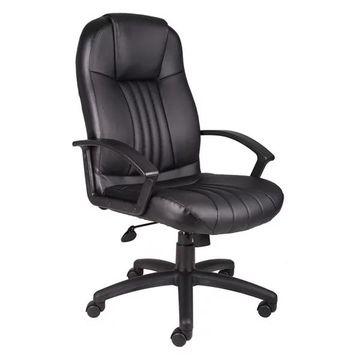 Boss B7641 Boss High Back Leather Plus Chair