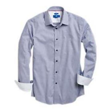 Egara Blue Stripe Sport Shirt
