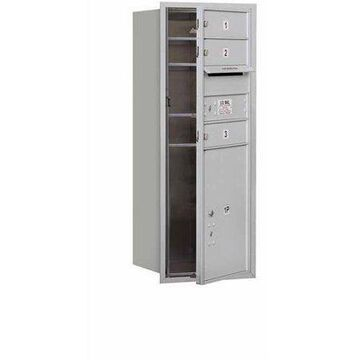 Salsbury Industries 4C Horizontal Mailbox 10-Door High Unit (37.5