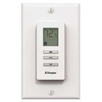 DIMPLEX DPCRWS Wall Mounted Remote Control, White