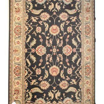 Karastan Ashara Agra Black Rug, 4'3