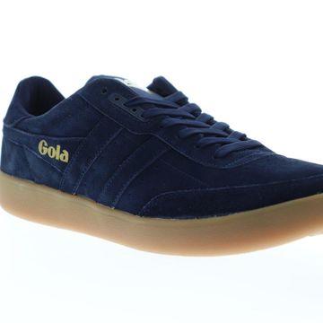 Gola Inca Suede Navy Navy Gum Mens Low Top Sneakers