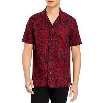 John Varvatos Star Usa Danny Camp Regular Fit Shirt