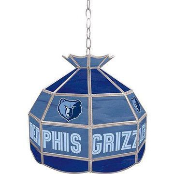 Trademark Gameroom NBA 16-inch Tiffany Style Lamp