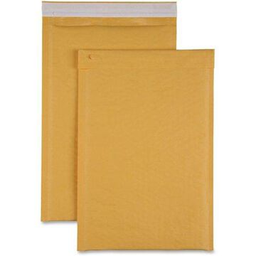 Sparco Size 3 Bubble Cushioned Mailers, Kraft, 100 / Carton (Quantity)