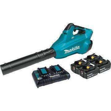 Makita 18V X2 36V LXT Lithium-Ion Brushless Cordless Blower Kit with 4 Batteries, XBU02PT1