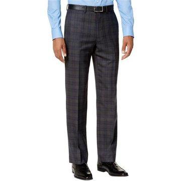 Ryan Seacrest Distinction Mens Plaid Casual Trousers