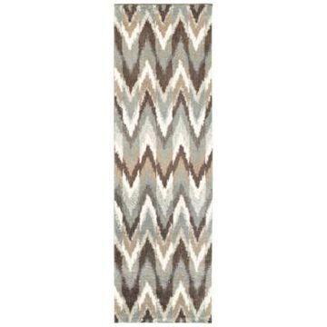 Oriental Weavers Verona Shag 4D Gray/Taupe 2'3