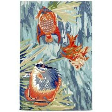Liora Manne Ravella Tropical Fish Indoor/Outdoor Rug (42