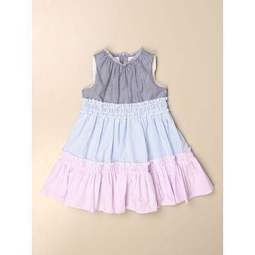 Il Gufo micro striped dress
