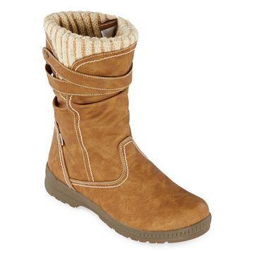 Totes Womens Hera Waterproof Winter Boots