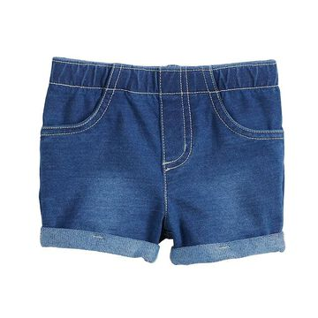 'Baby Girl Jumping Beans Cuffed Jegging Shorts