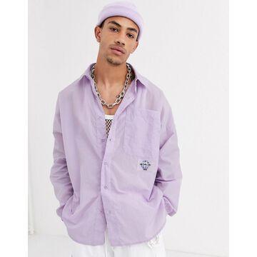 Jaded London long sleeve shirt in purple