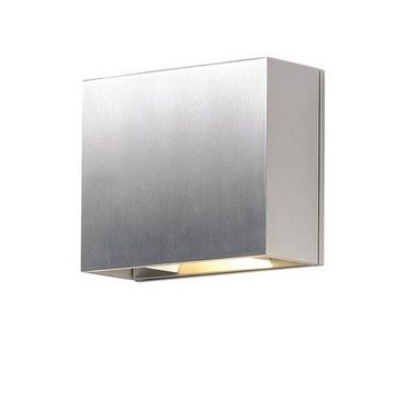 ET2 Lighting-E41328-SA-Alumilux - 7 6W 2 LED Outdoor Wall Sconce