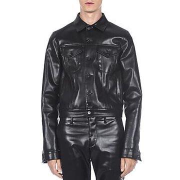 Marni Faux Leather Moto Jacket
