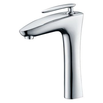 ANZZI Crown Single Handle Vessel Sink Faucet in Polished Chrome