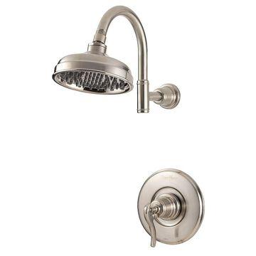 Pfister Ashfield 1-Handle Shower, Trim Only LG89-7YPK Brushed Nickel