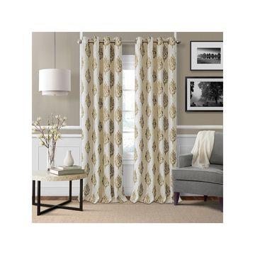 Elrene Navara Blackout Curtains Blackout Grommet-Top Curtain Panel
