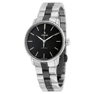 Rado Women's Coupole Black Dial Watch - R22862152