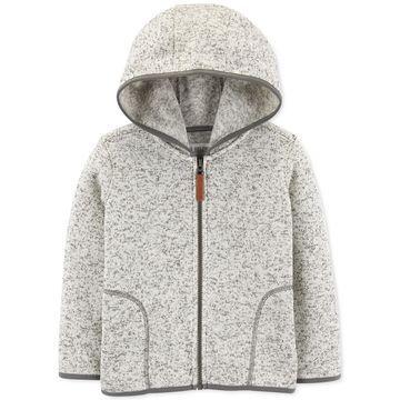 Baby Boys Sweater-Knit Zip-Up Hoodie