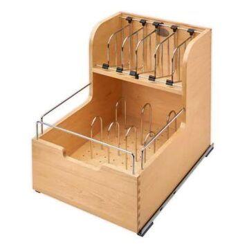 Rev-A-Shelf -4FSCO-18SC-1 - 14.5-inch Food Storage Container Organizer