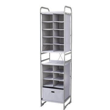 neatfreak Versa System 16 Cubby + Drawer Tower