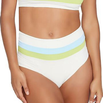 Portia Stripe Bikini Bottom - Women's
