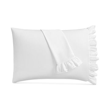 CLOSEOUT! Signature White Pillowcase Pair, 400 Thread Count Cotton Sateen, Created for Macy's