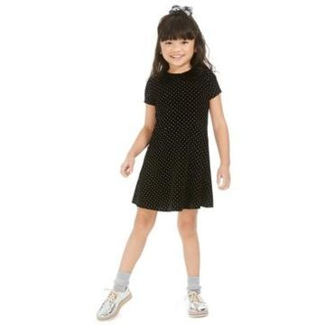 Epic Threads Toddler Girls Velvet Collar Dress, Created For Macy's