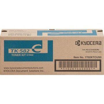 Kyocera Mita TK582C Cyan Toner Cartridge High Yield