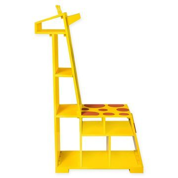 Teamson Kids Zoo Kingdom Giraffe Bookshelf