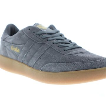 Gola Inca Suede Ash Ash Gum Mens Low Top Sneakers