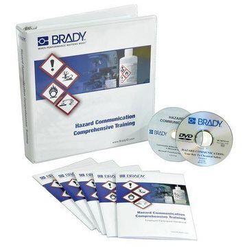 BRADY 132457 Training DVD, Hazard Communication