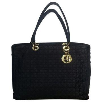 Dior Dior Soft Shopping Black Cloth Handbags