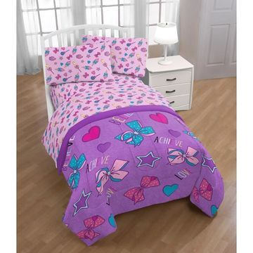 Nickelodeon Jojo Siwa Dream Believe 4 Piece Twin Bed Set
