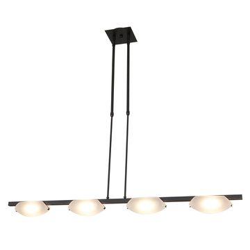 Access Lighting Nido Bronze 4 Light LED Pendant/SemiFlush