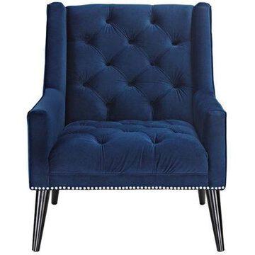 Modway Peruse Velvet Upholstered Armchair, Multiple Colors